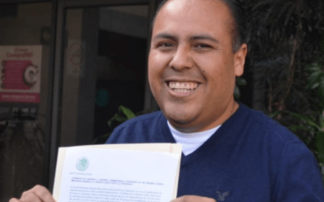 Edgar Portillo sufre accidente en La Marquesa - Foto de internet