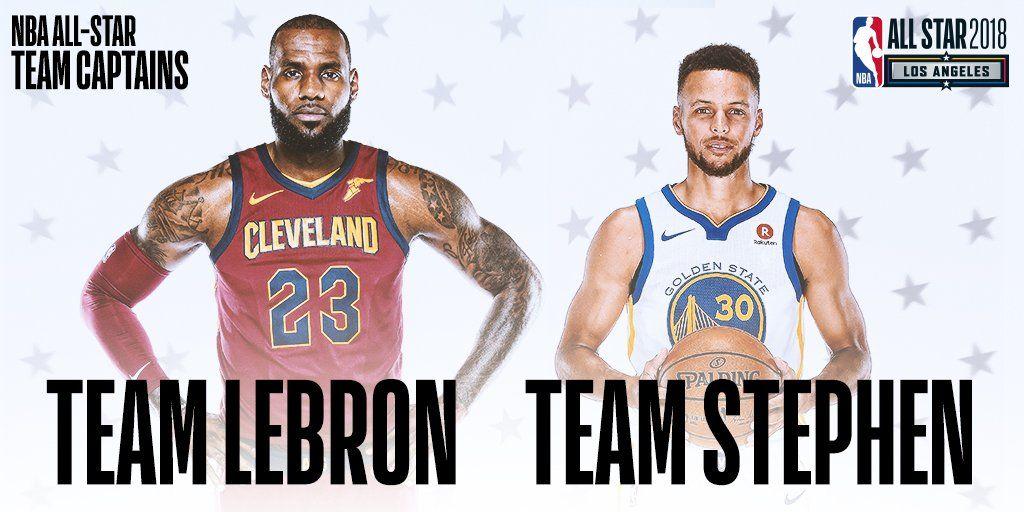LeBron James y Stephen Curry serán capitanes en Juego de Estrellas de NBA - Foto de NBA
