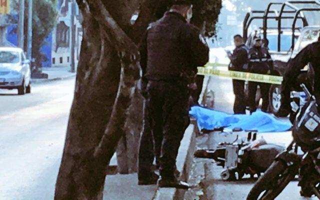 Policía muere en accidente de motocicleta en Azcapotzalco - Foto de Alertas Urbanas