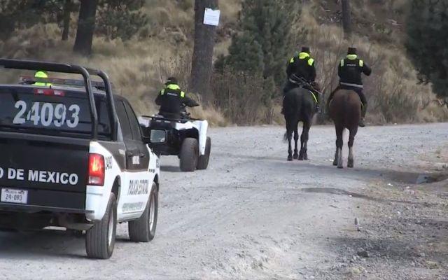 Rescatan a cuatro jóvenes en Nevado de Toluca - Foto: @SS_Edomex