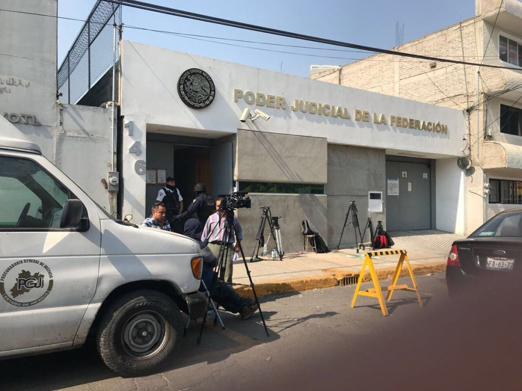 Ingresan a Borge a penal de Neza-Bordo - Foto de @EjeCentral