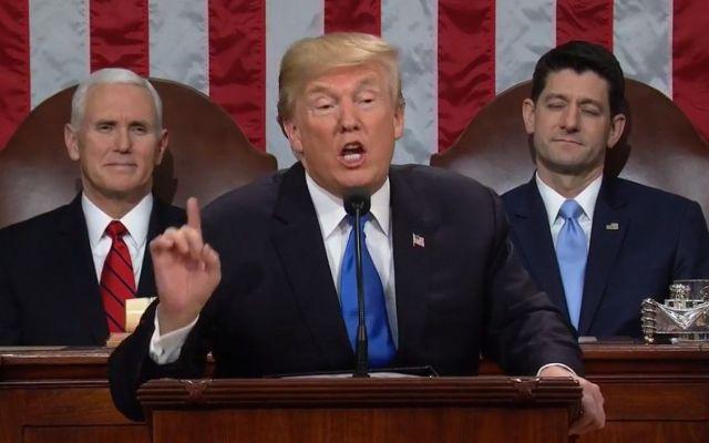 Critica Trump a demócratas por no celebrar éxito económico - Donald Trump. Foto de AP