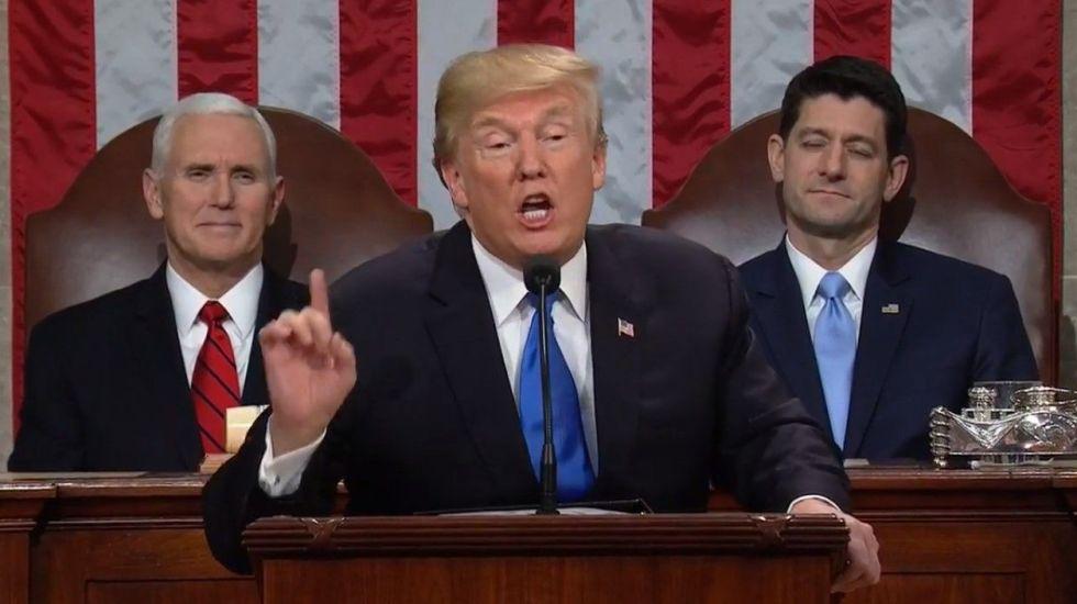 Repaso a la fecha límite de Trump para DACA - Donald Trump. Foto de AP