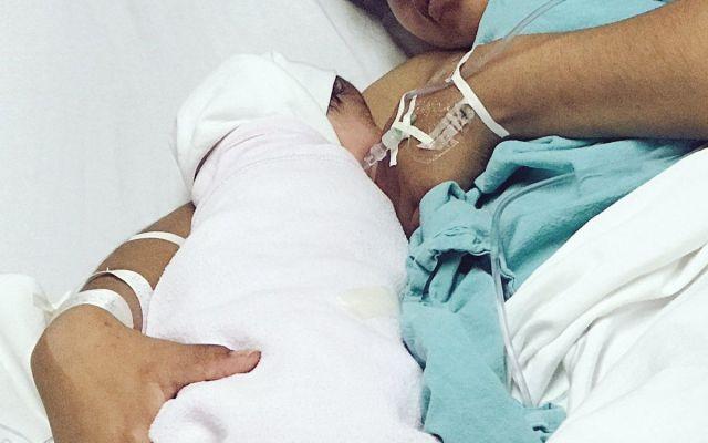 Nace el primer bebé mexicano de 2018 - Foto de Twitter IMSS