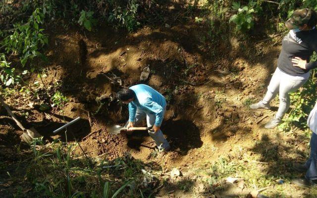 Suman 33 los cuerpos hallados en fosas de Nayarit - Foto de Twitter