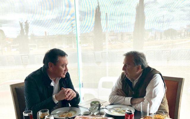 Meade se reúne con Osorio Chong en Hidalgo - Foto de Twitter