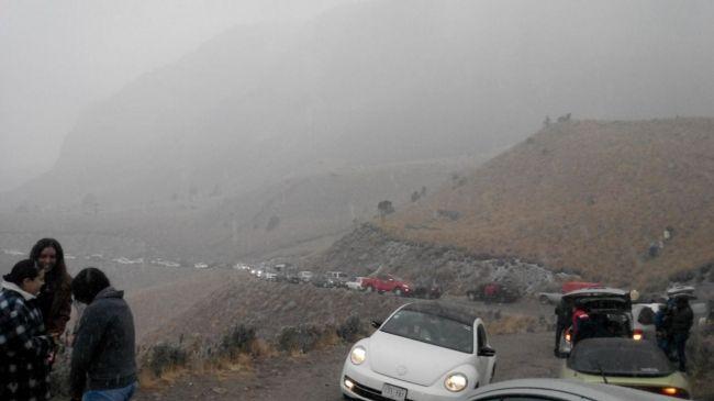 Desaparecen cuatro jóvenes en el Nevado de Toluca - Foto de Notimex