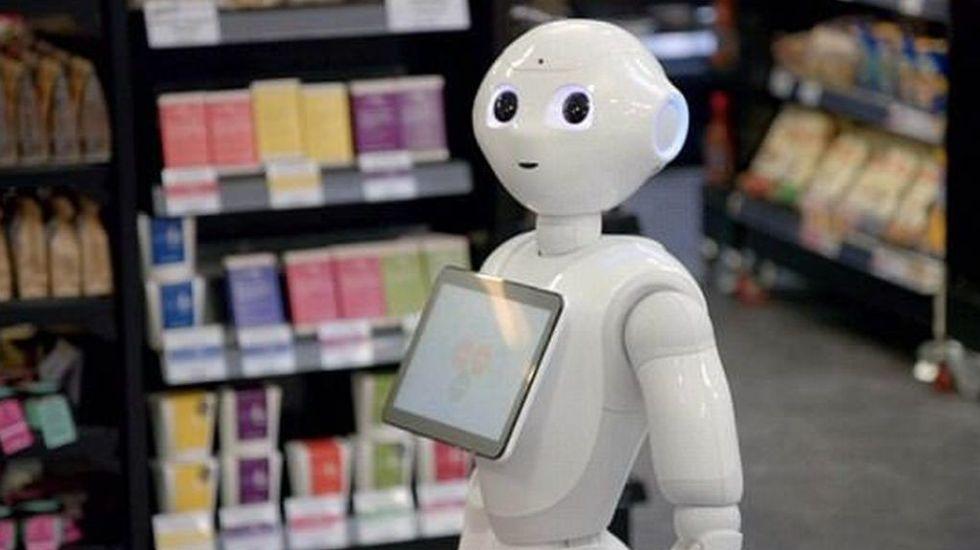Despiden a robot de supermercado