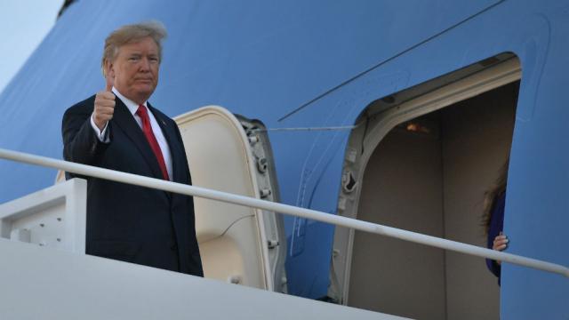 Trump se adjudica saldo blanco en accidentes aéreos en 2017 - Foto de Internet