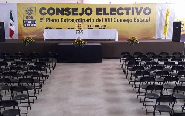 Pendientes 30 candidaturas del PRD en Edomex - Foto: Facebook.