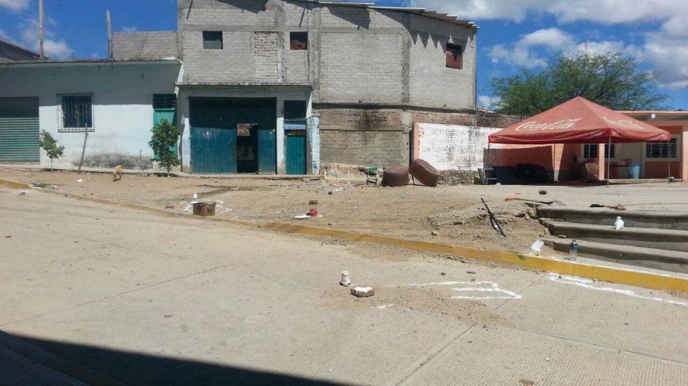 Jornada violenta deja 16 muertos en Oaxaca - Foto de @GPS_noticias
