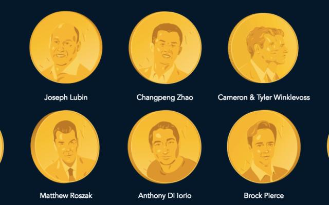 Estas son las personas más ricas del mundo en criptomonedas