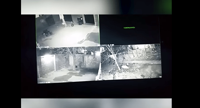 #VIDEO Cámaras de seguridad captan detención de familia en Coahuila - Captura de pantalla