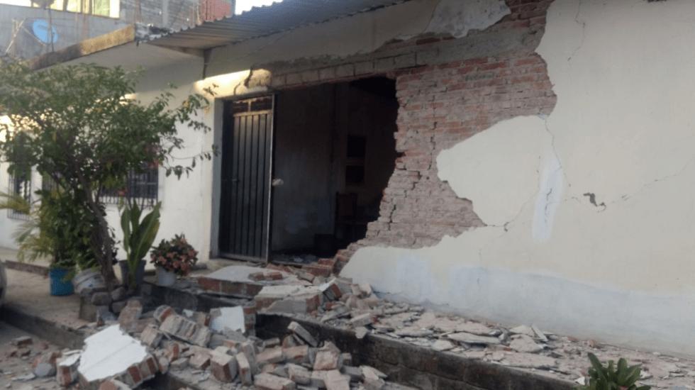 Al menos 4 mil viviendas en Oaxaca resultaron afectadas por sismo