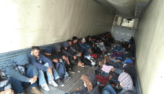 Rescatan a 103 migrantes en Tamaulipas