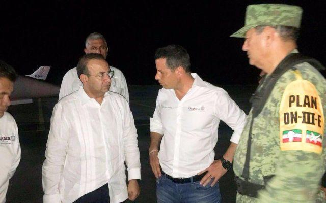 Murat expresa condolencias a familiares de víctimas por caída de helicóptero - Foto de @osdtagle