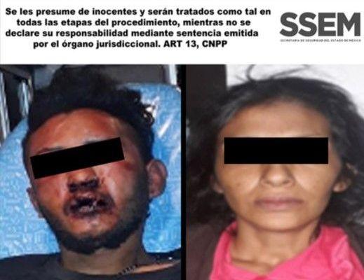 Evitan policías linchamiento de ladrones en Ixtapaluca - Foto: SSEM.