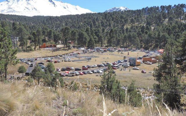Cerrarán temporalmente paso a vehículos en Nevado de Toluca - Foto: Conanp