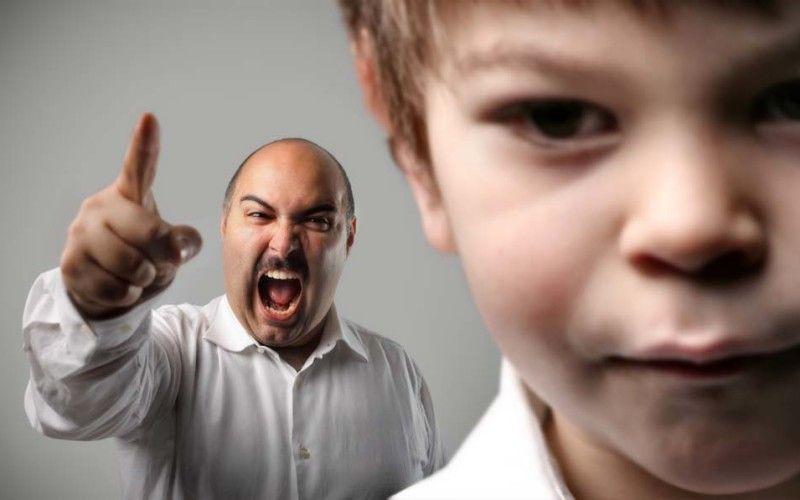 ¡Cuidado! Gritar a hijos pequeños puede causar trastornos emocionales - Foto: Internet.