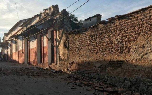Reportan daños materiales en Oaxaca - Foto: @JoeSantanaB