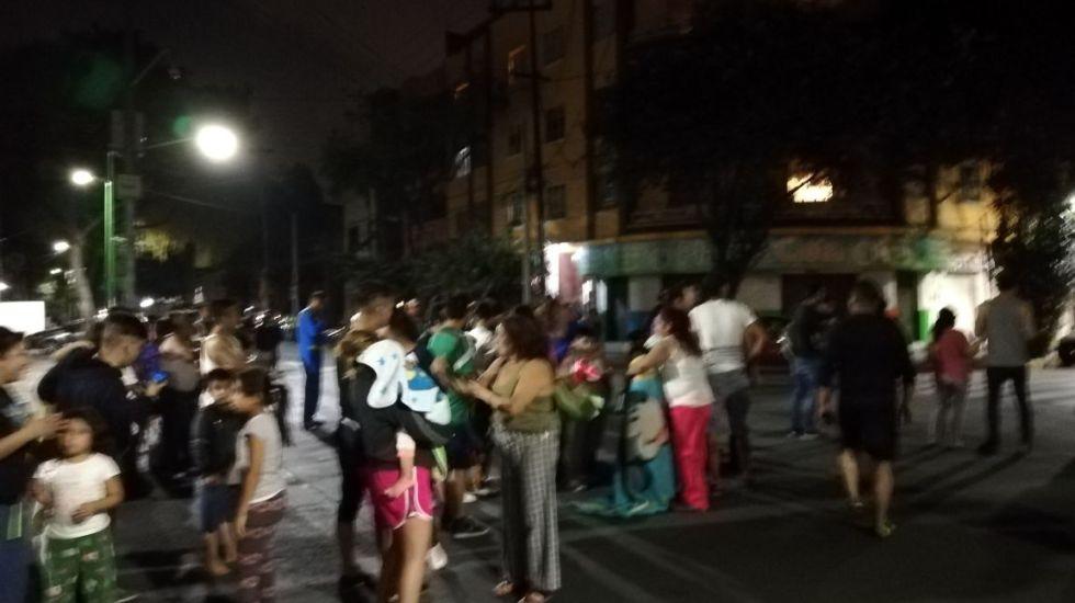 Sin incidentes tras sismo en CDMX: Protección Civil - Foto de @leonidafs