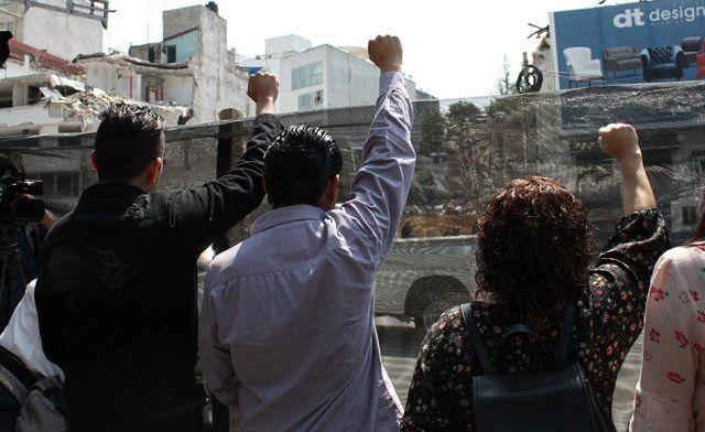 Concluye demolición de tres edificios afectados por sismo - Foto de Internet