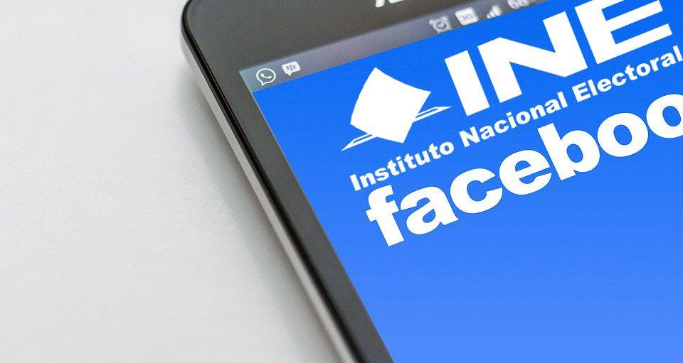 INE firma convenio con Facebook por época electoral - Foto de El Diario de Morelos