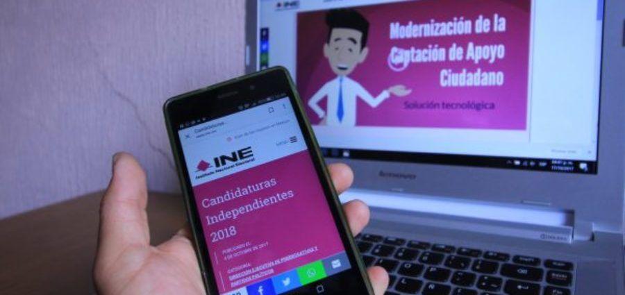 Empresa mal evaluada desarrolló app del INE para captación de firmas