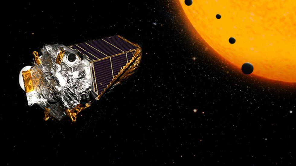 Telescopio espacial Kepler descubre 95 nuevos exoplanetas - Telescopio Espacial Kepler. Foto: NASA.