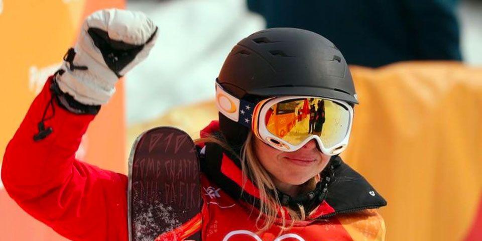 ¿Cómo calificó una esquiadora a los Juegos de Invierno sin saber esquiar? - Foto de Reuters