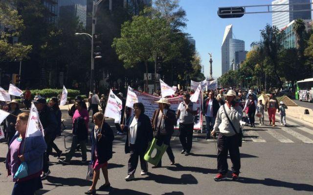 Seis movilizaciones afectarán la Ciudad de México - Foto de Jonathan Del Moral