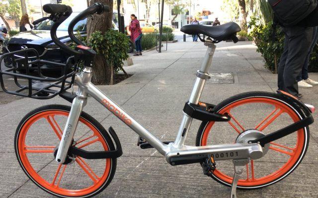 Mobike, el nuevo servicio de renta de bicicletas que llegará a la Ciudad de México - Foto de Twitter