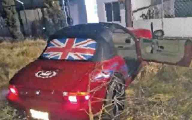 Asesinan a policía a bordo de BMW en Tlalpan - Foto de El Gráfico
