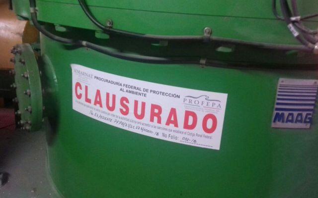 Clausuran proyecto de cementera Cruz Azul por falta de permiso ambiental - Foto de Profepa