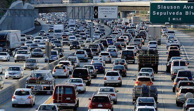 Los Ángeles tienen el peor tráfico de EE.UU. por sexto año consecutivo - Foto de Internet