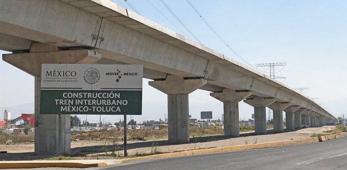 Obras del Tren Interurbano México-Toluca deberán estar listas para finales de septiembre: SCT