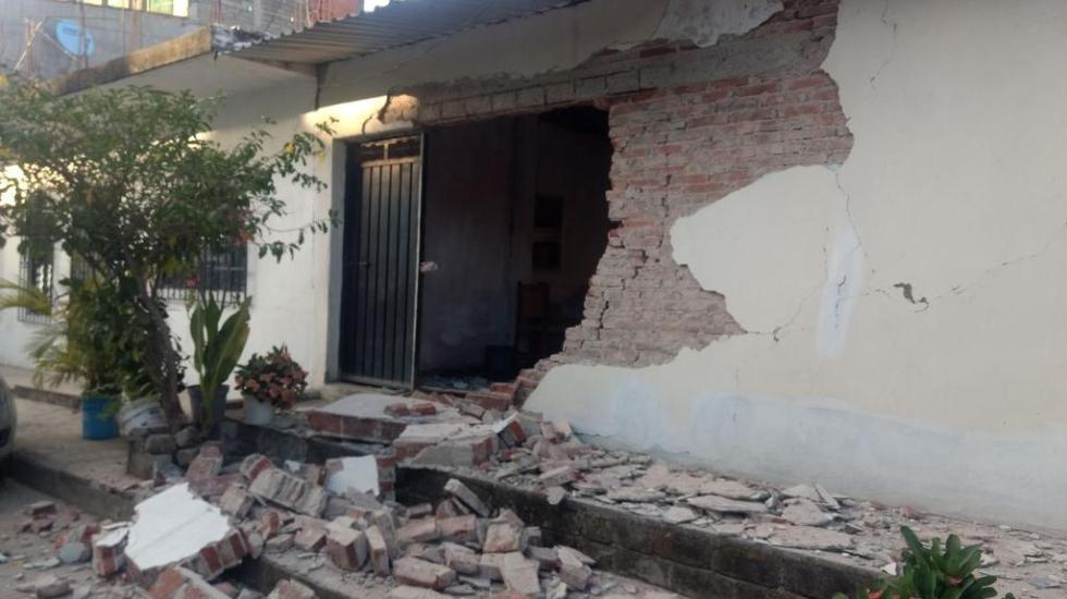 Sismo del viernes afectó más de 200 viviendas en Oaxaca