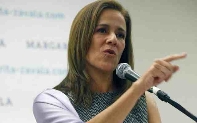 """""""Anaya necesita tener cuentas claras y no las tiene"""": Zavala - Foto de Internet"""