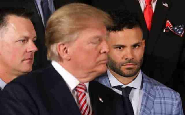 #Video El momento de tensión entre Altuve y Trump en la Casa Blanca - Foto: Agencias.