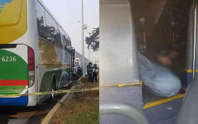 Matan a pasajero durante asalto a autobús en Hidalgo - Foto de Internet