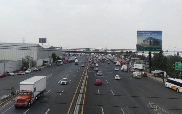 La Autopista México-Querétaro es la vía más transitada esta mañana - Foto de @PoliciaFedMx