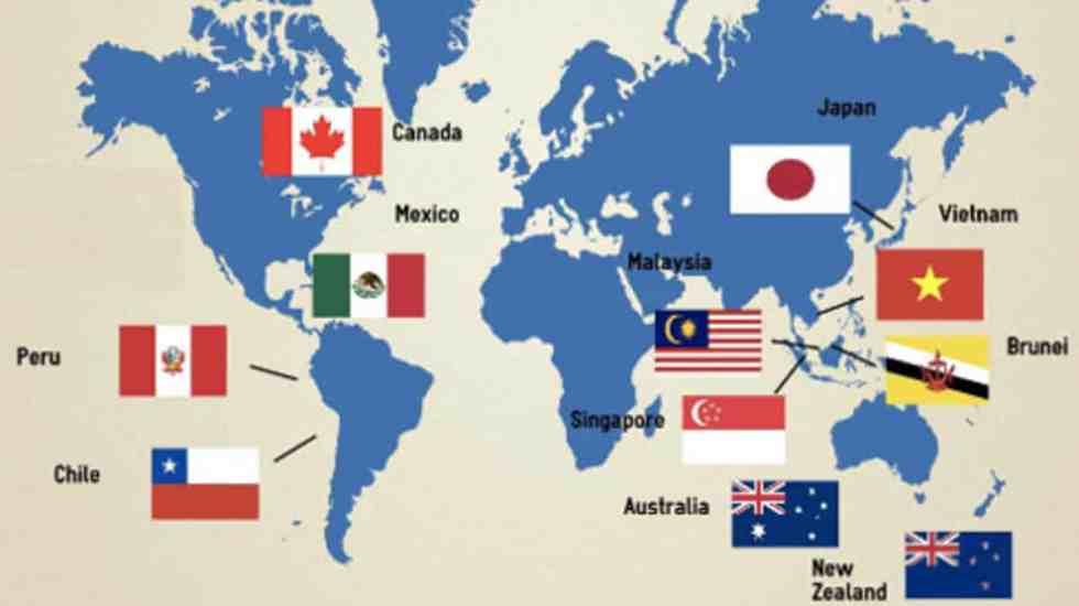 Entra en vigor el Acuerdo Transpacífico