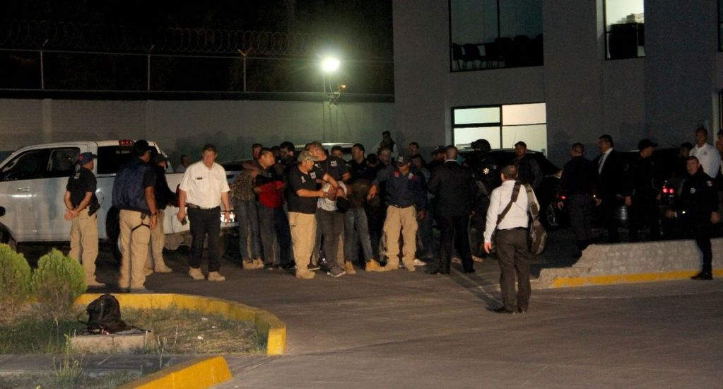 Sobrino de 'El Mencho' entre los detenidos en Michoacán - Foto de PGJ Michoacán
