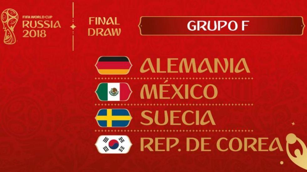 México, único equipo del Grupo F que ganó su partido