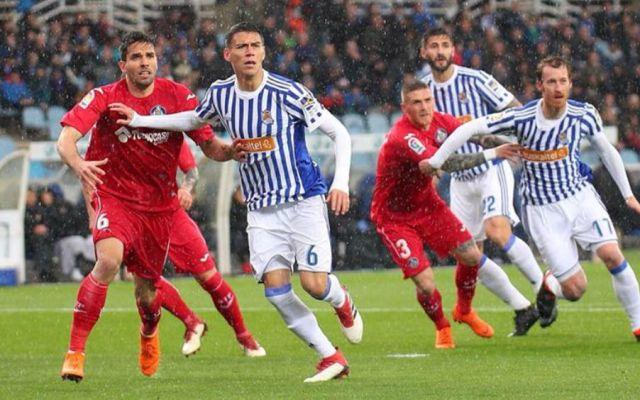 Real Sociedad y Héctor Moreno caen con Getafe - Foto: Real Sociedad.