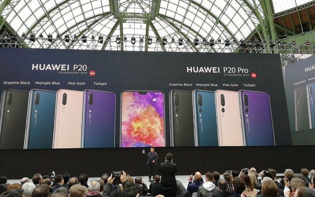Huawei presenta el teléfono P20