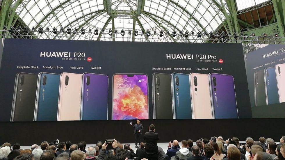 Huawei presenta la Serie P20, sus nuevos dispositivos insignia