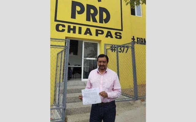 Detienen en Chiapas a candidato perredista al ayuntamiento de Las Margaritas - Foto: Facebook.