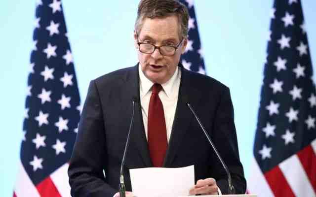 EE.UU. espera concluir renegociación del TLC en agosto - Foto de Reuters