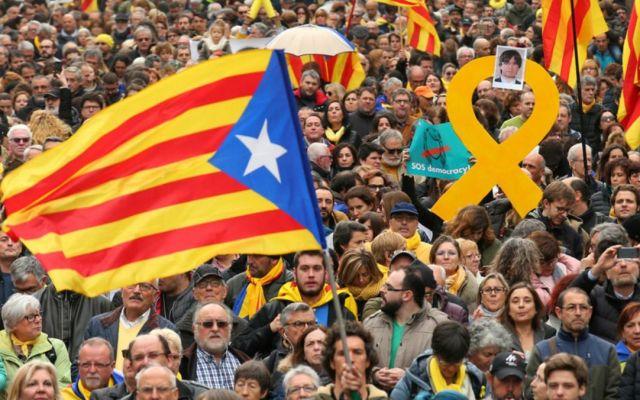 Movilizaciones contra detención de Puigdemont dejan 59 heridos - Foto de RRSS